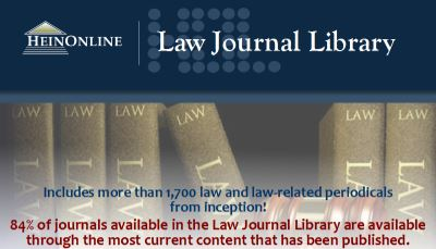 Law Library Journal - HeinOnline