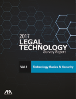2017 Legal Technology Survey Report