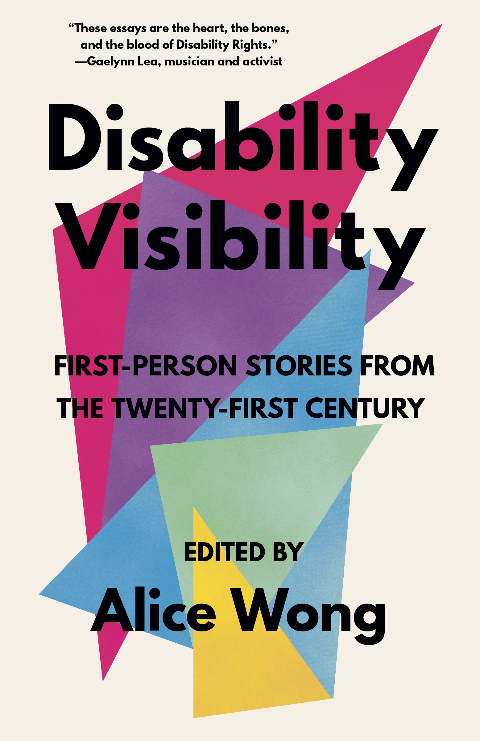 An image of the cover of the book Disability Visibility
