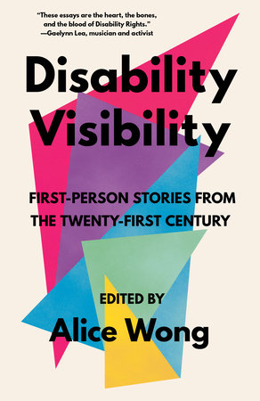 An image of the cover of the book Disability Visib