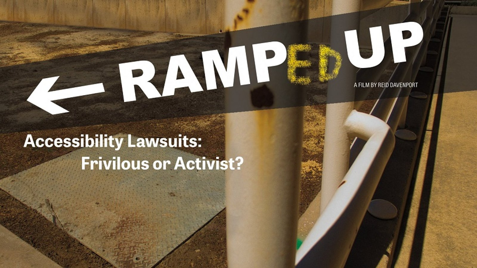 """Thumbnail image of the film """"RAMPED UP - The Pitfalls of the Americans with Disabilities Act """""""