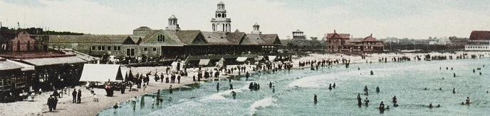 Rhode Island Postcard Collection, Narragansett Pier, R. I.