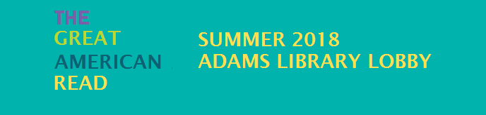 Great American Read Summer 2018 Adams Library