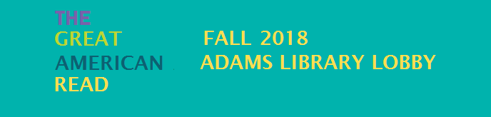 Great American Read Fall 2018 Adams Library