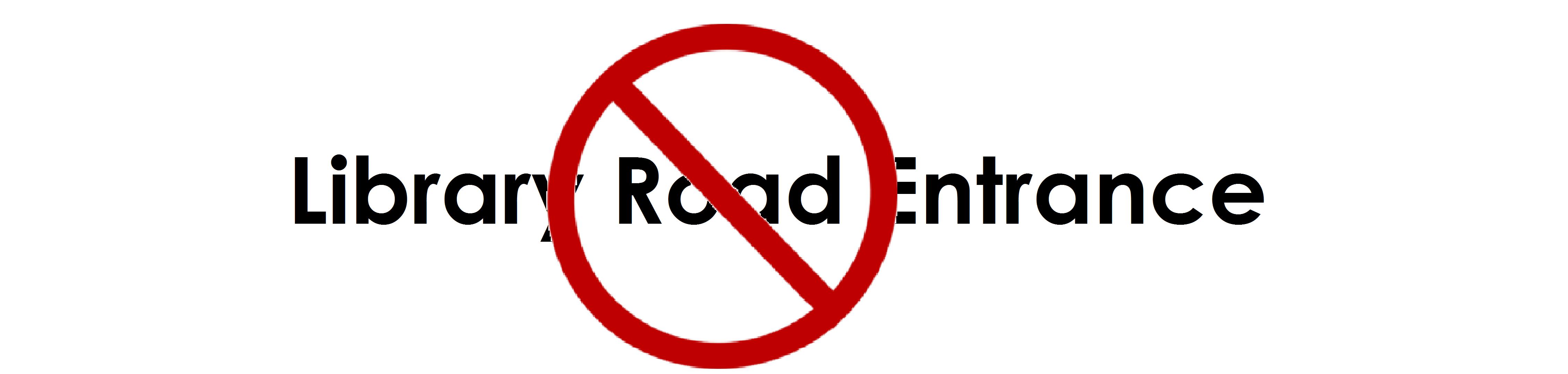 No entry symbol