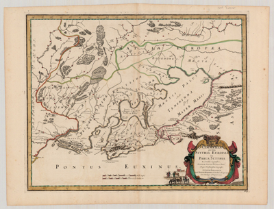 Map, 1665, Cimmeria