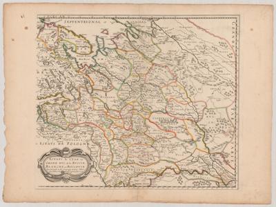 Map, 1679, Estats du Czar