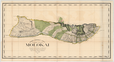 Map, Molokai 1897 (1:60,000)