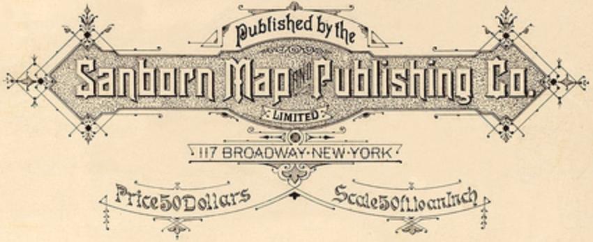 Sanborn Map Publishing Company Logo