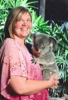 Kari Kozak and koala