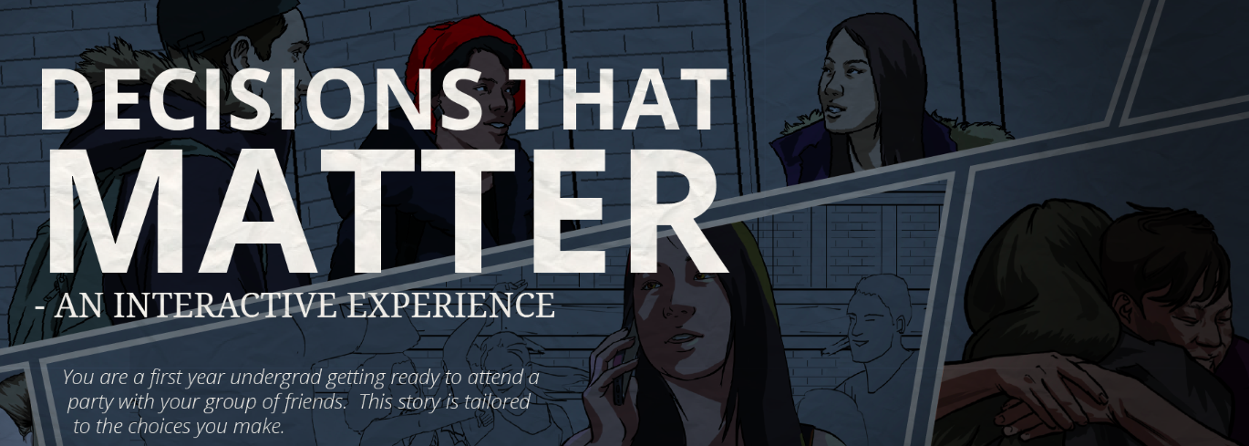 Link to Decisions that Matter: An Interactive Experience