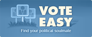 Vote Easy Find your political soulmate