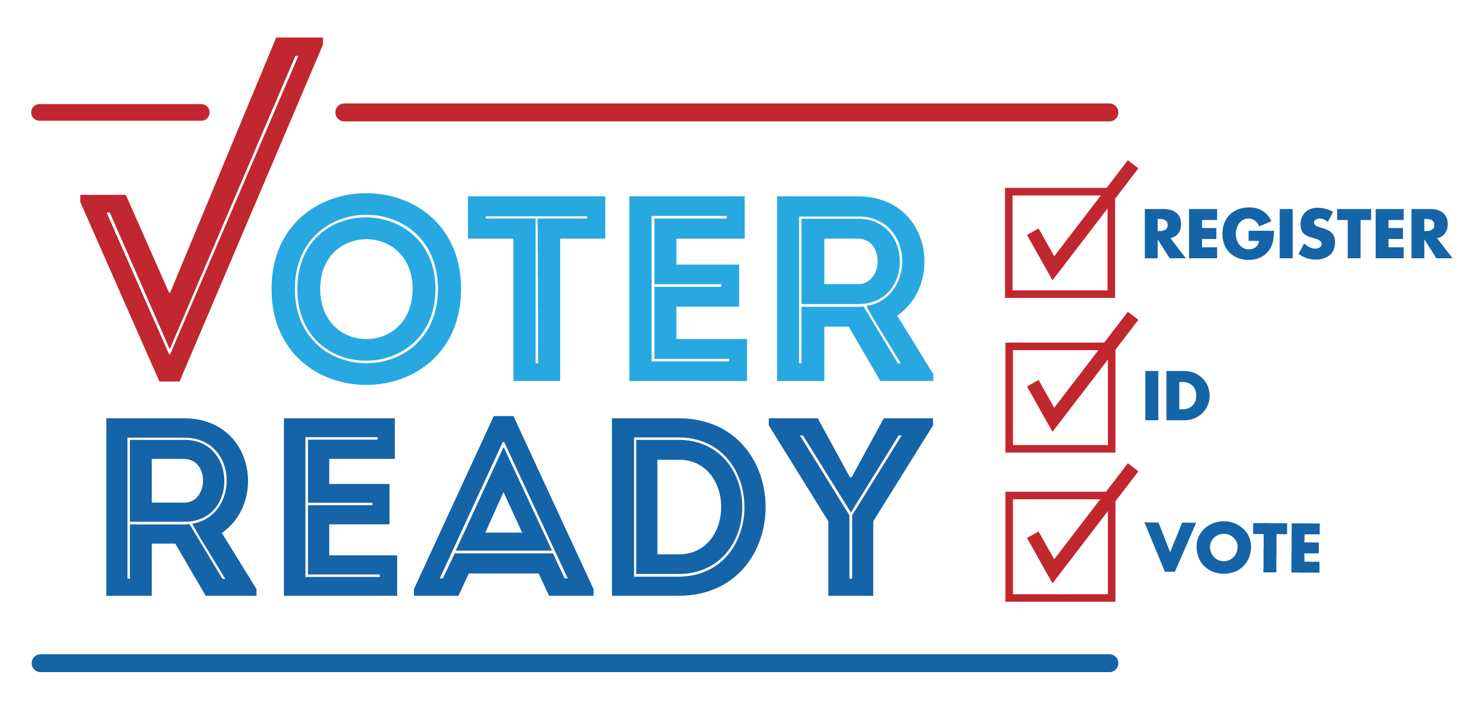 Voter Ready Register ID Vote