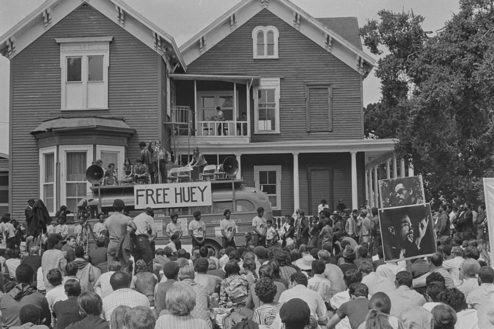 Photograph of Free Huey Rally