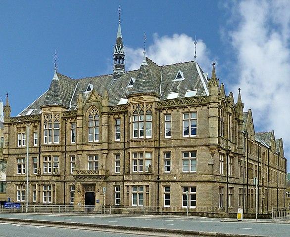 Huddersfield University building
