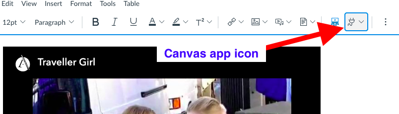 Canvas app icon