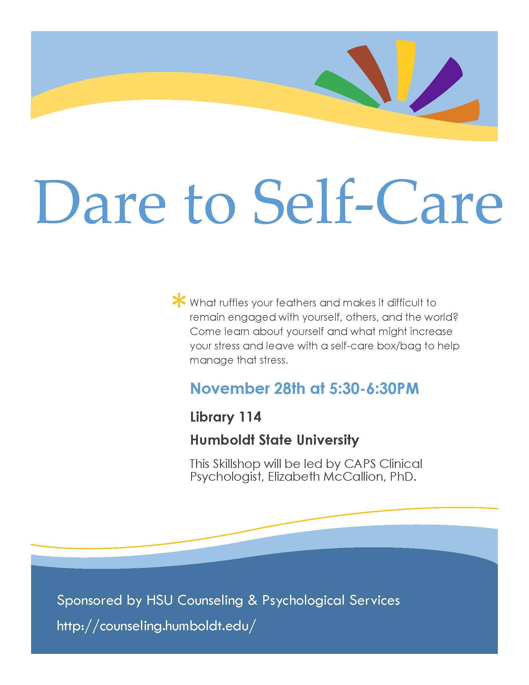 Dare to Self-Care