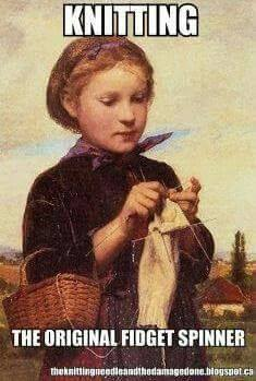 Knitting - The Original Fidget Spinner