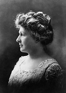 Photograph of Annie Jump Cannon (side view)