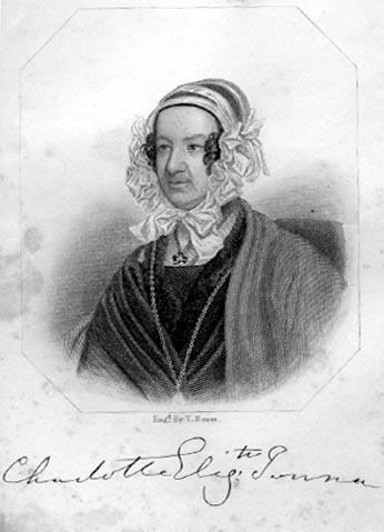 Sketched Portrait of Charlotte E. Tonna