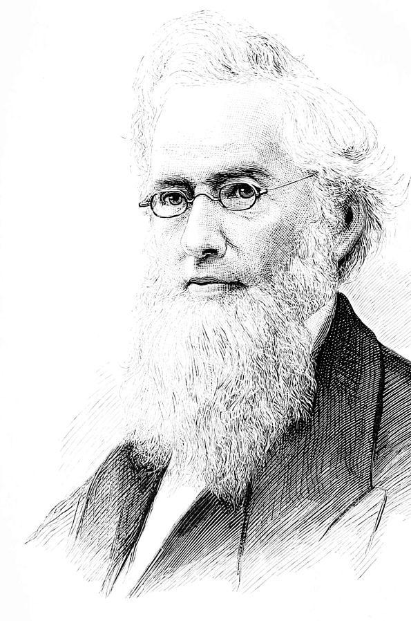Sketched Portrait of Frederick Augustus Porter Barnard
