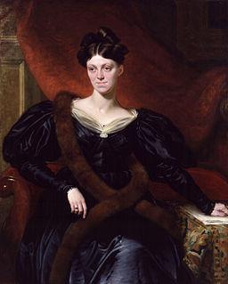 Painted Portrait of Harriet Martineau