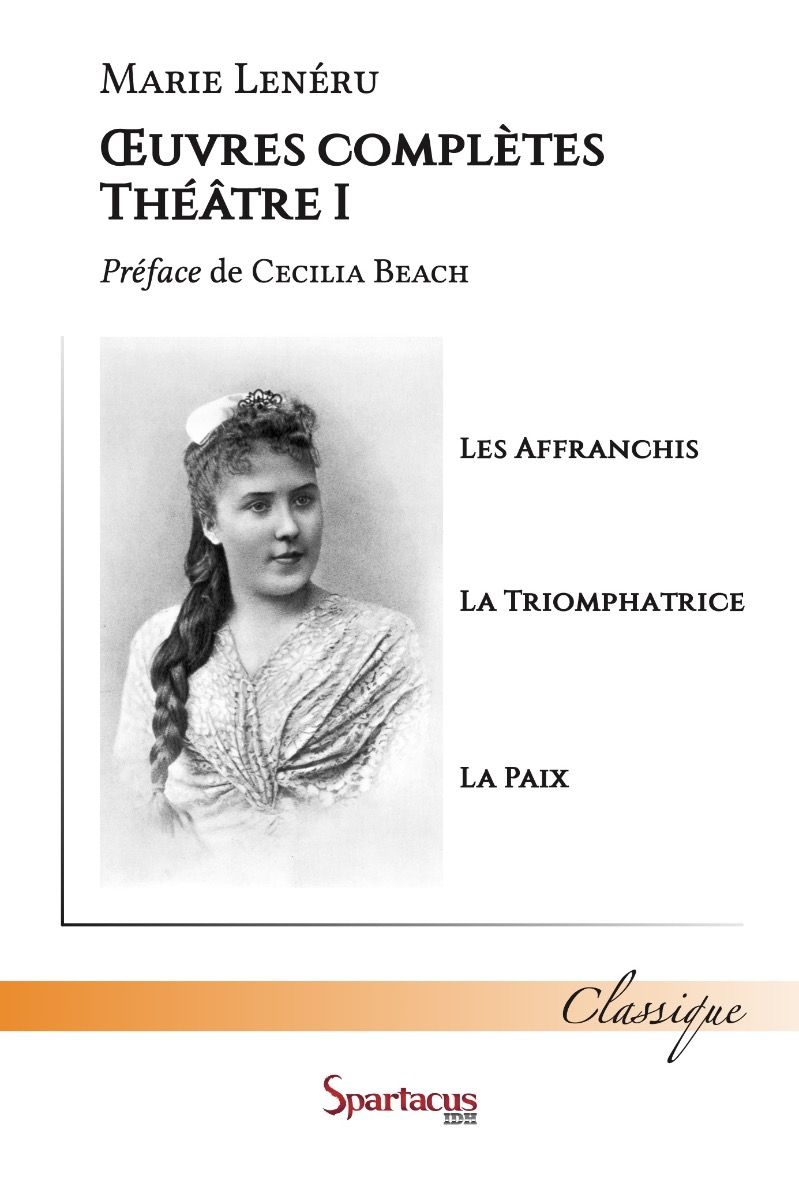 Marie Leneru Complete Works Title page with portrait