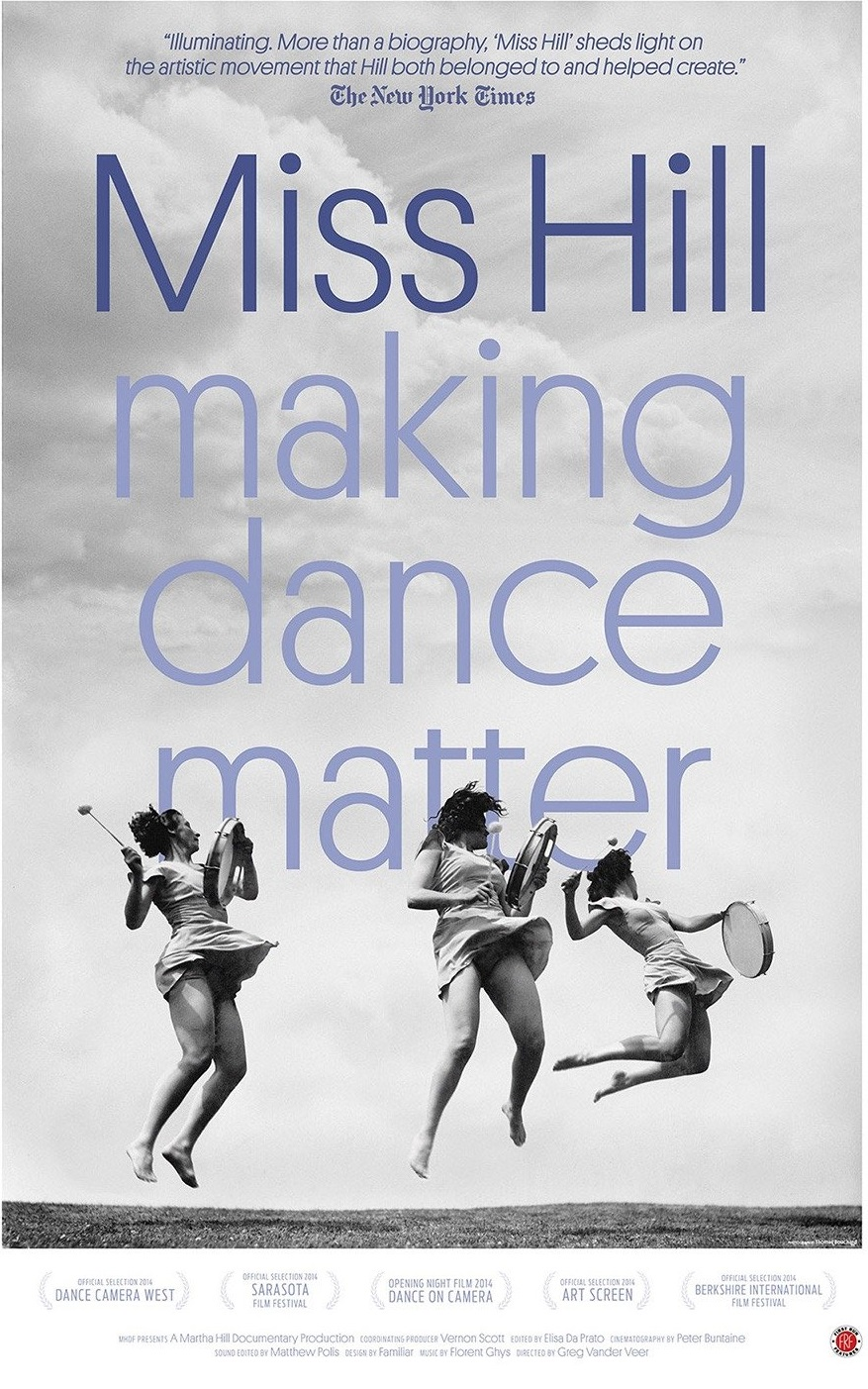 Miss Hill making dance matter