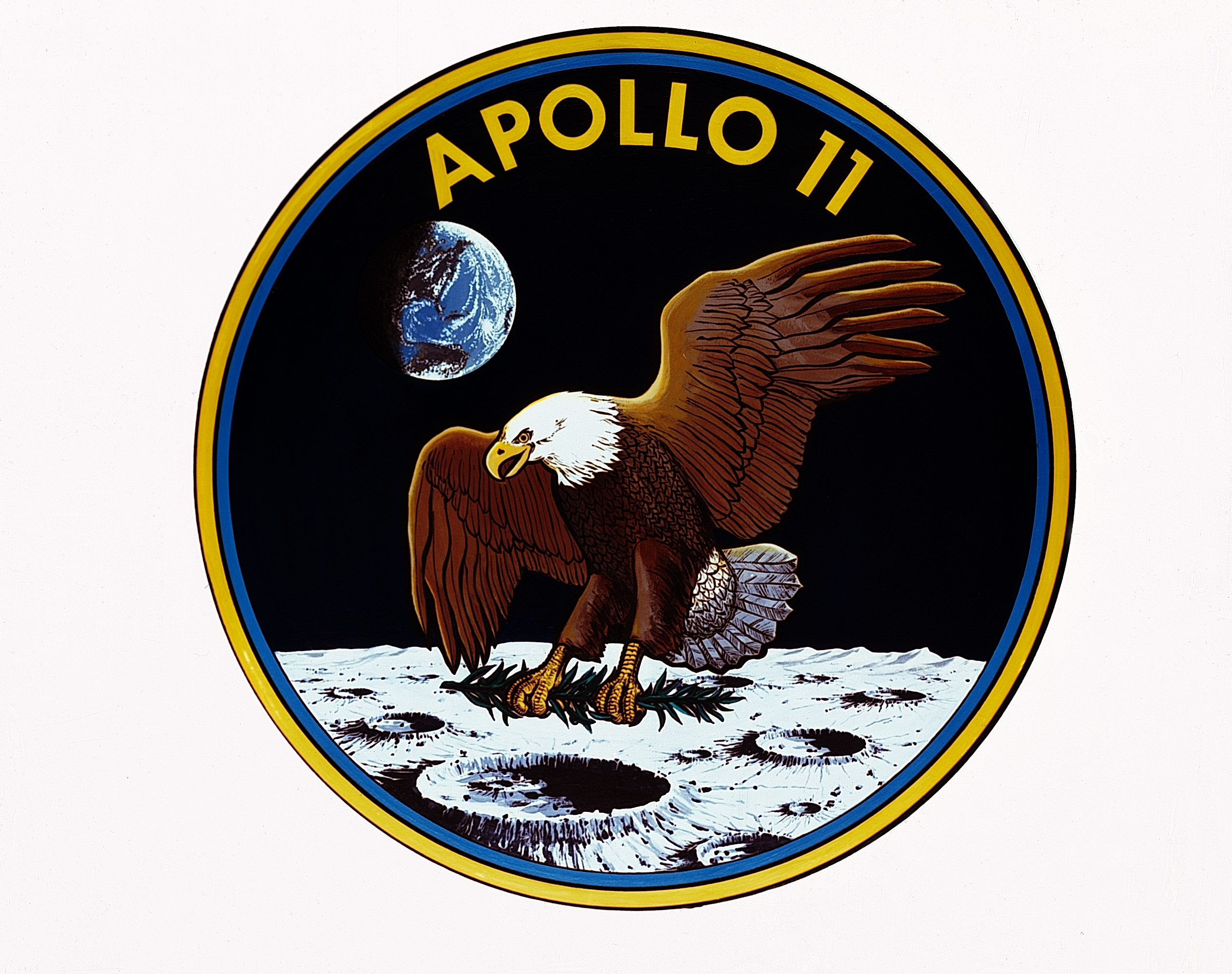 Apollo 11 patch logo