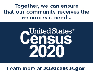 We support Census 2020 badge