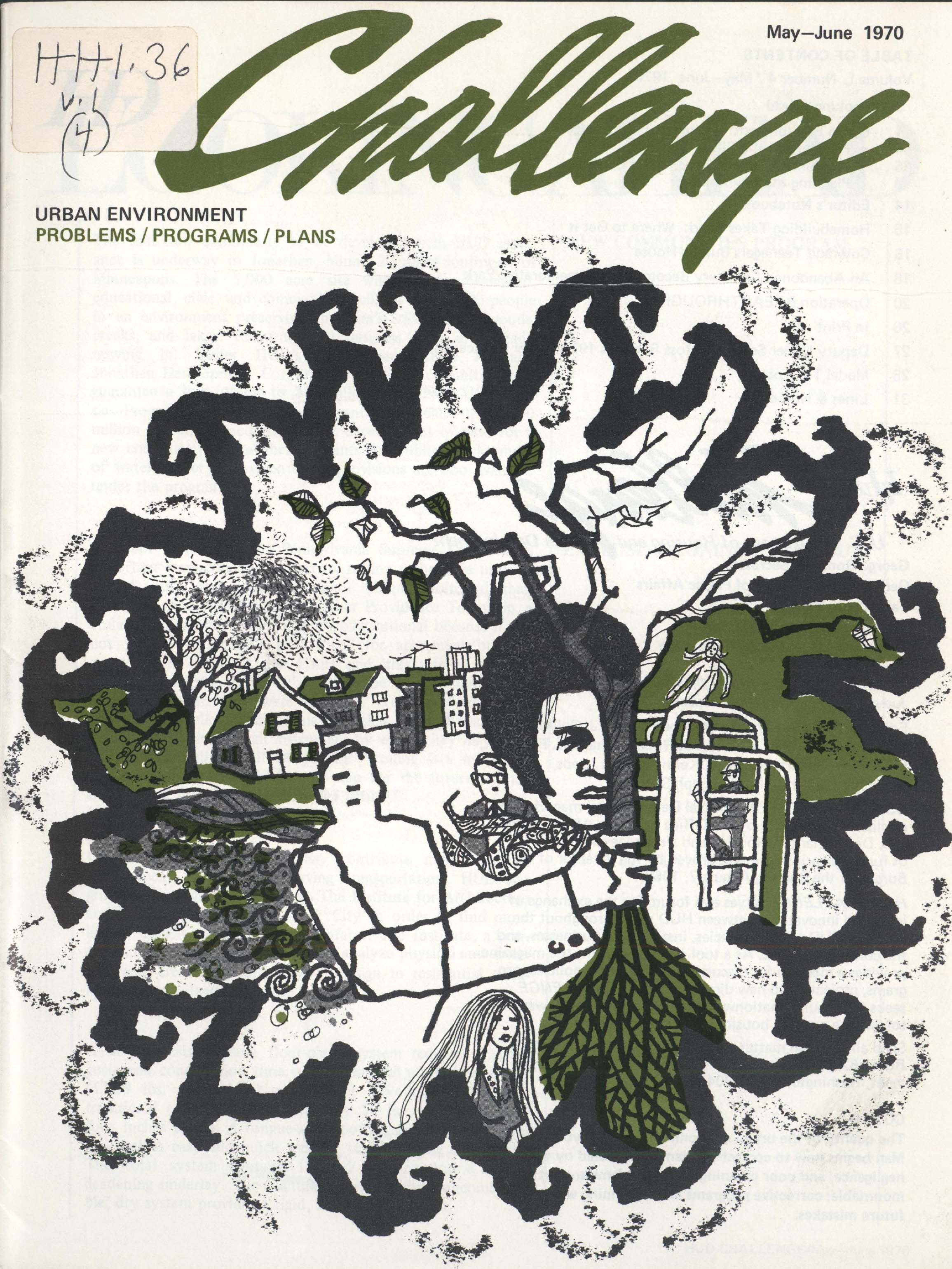 Cover of Challenge, May-June 1970