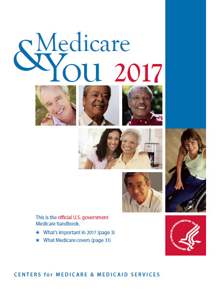 Medicare & You 2017 cover