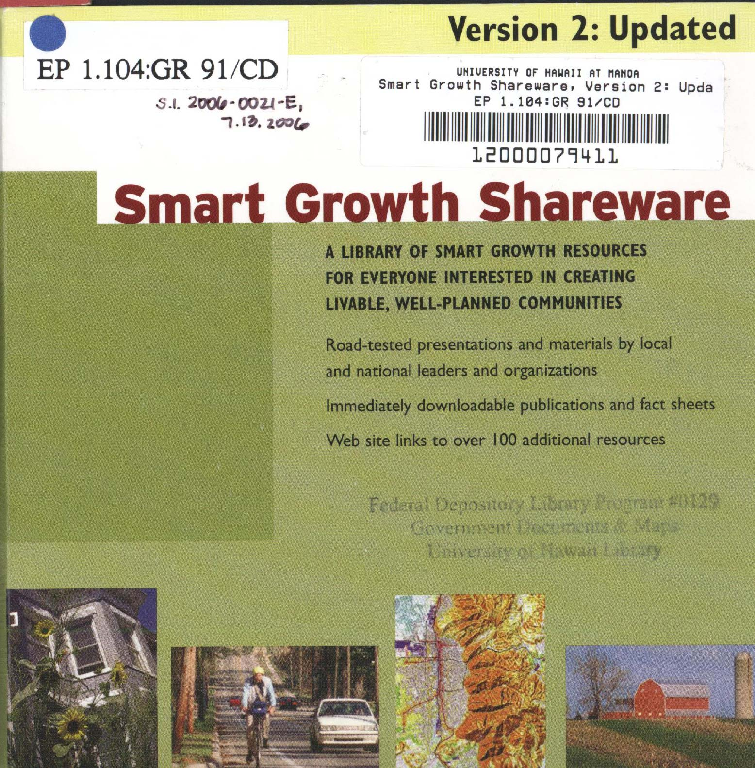 Photo of CD-ROM cover