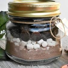 Kids Craftalong- Hot Cocoa Jars