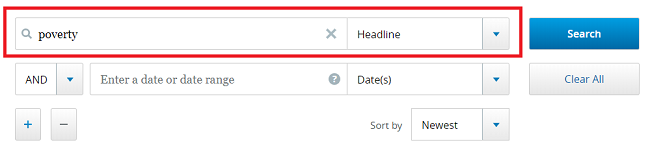 Headline Search in NewsBank