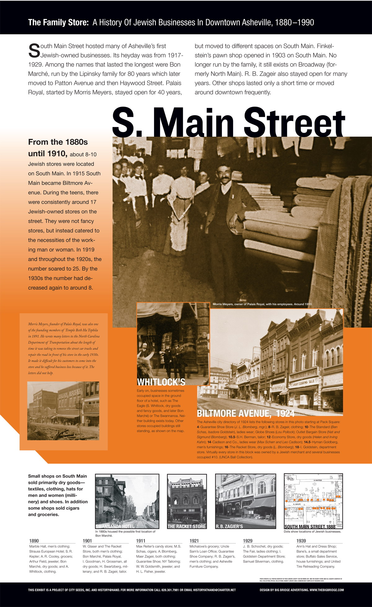 South Main Street Panel from Exhibit