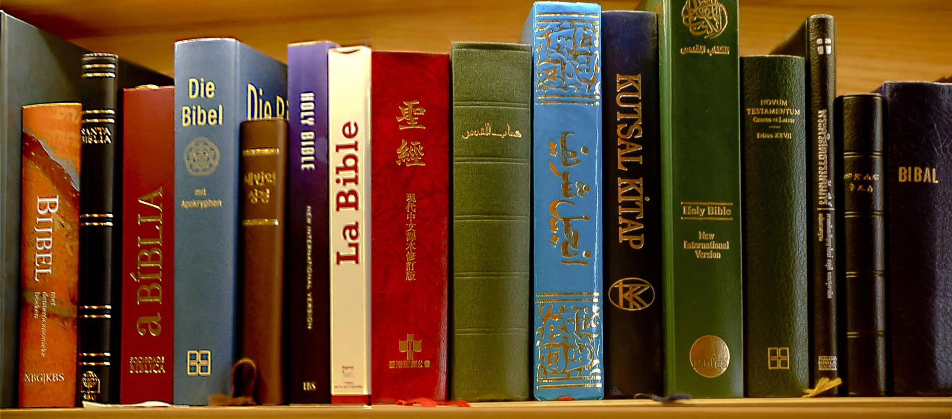 Bible in different languages