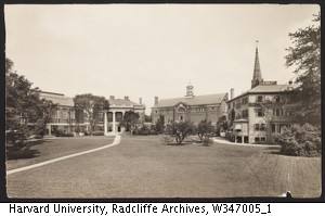 View of Radcliffe Yard, 1908