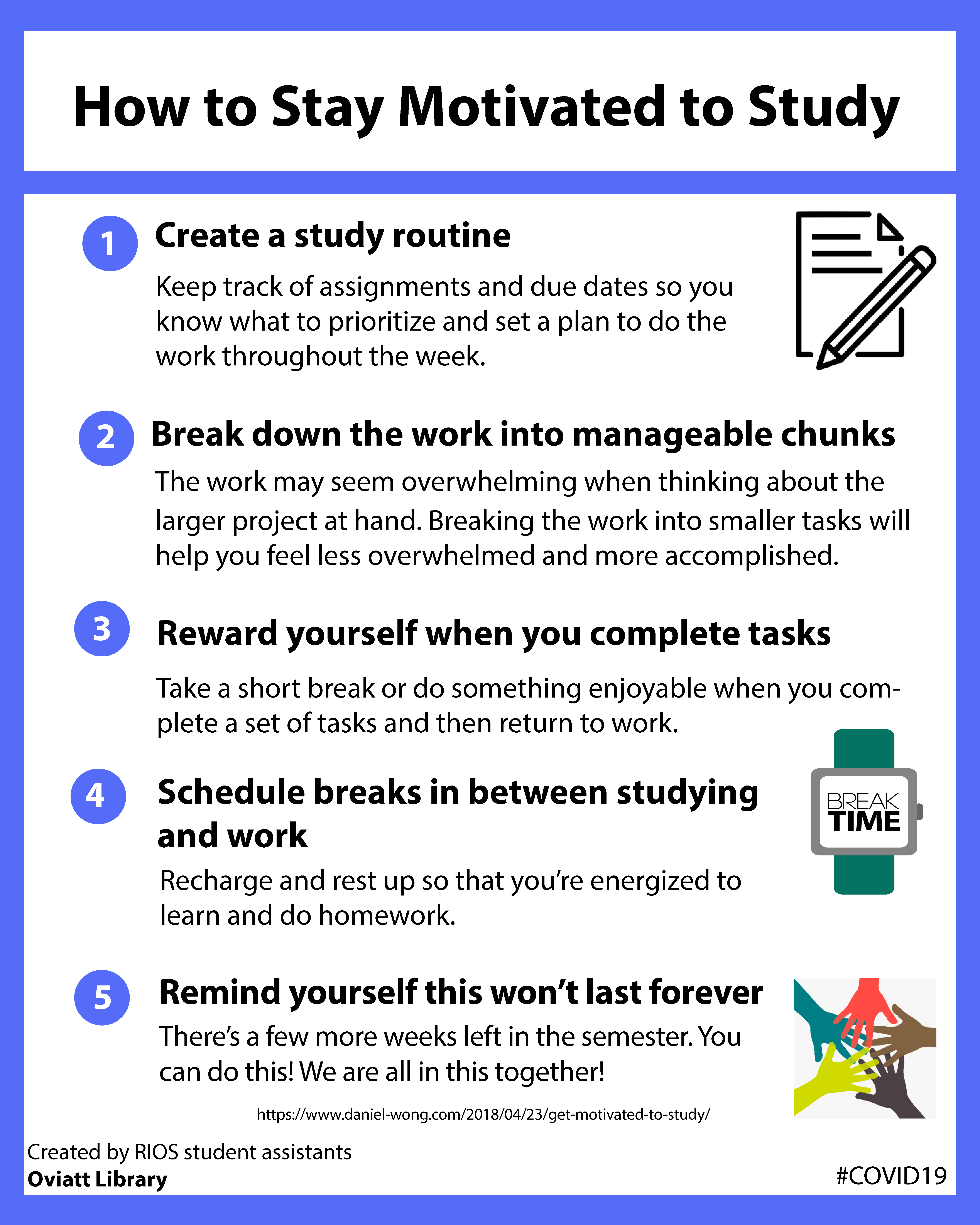 How to Stay Motivated to Study