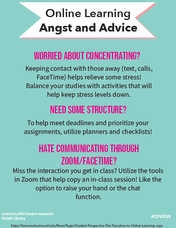 Online Learning Angst and Advice