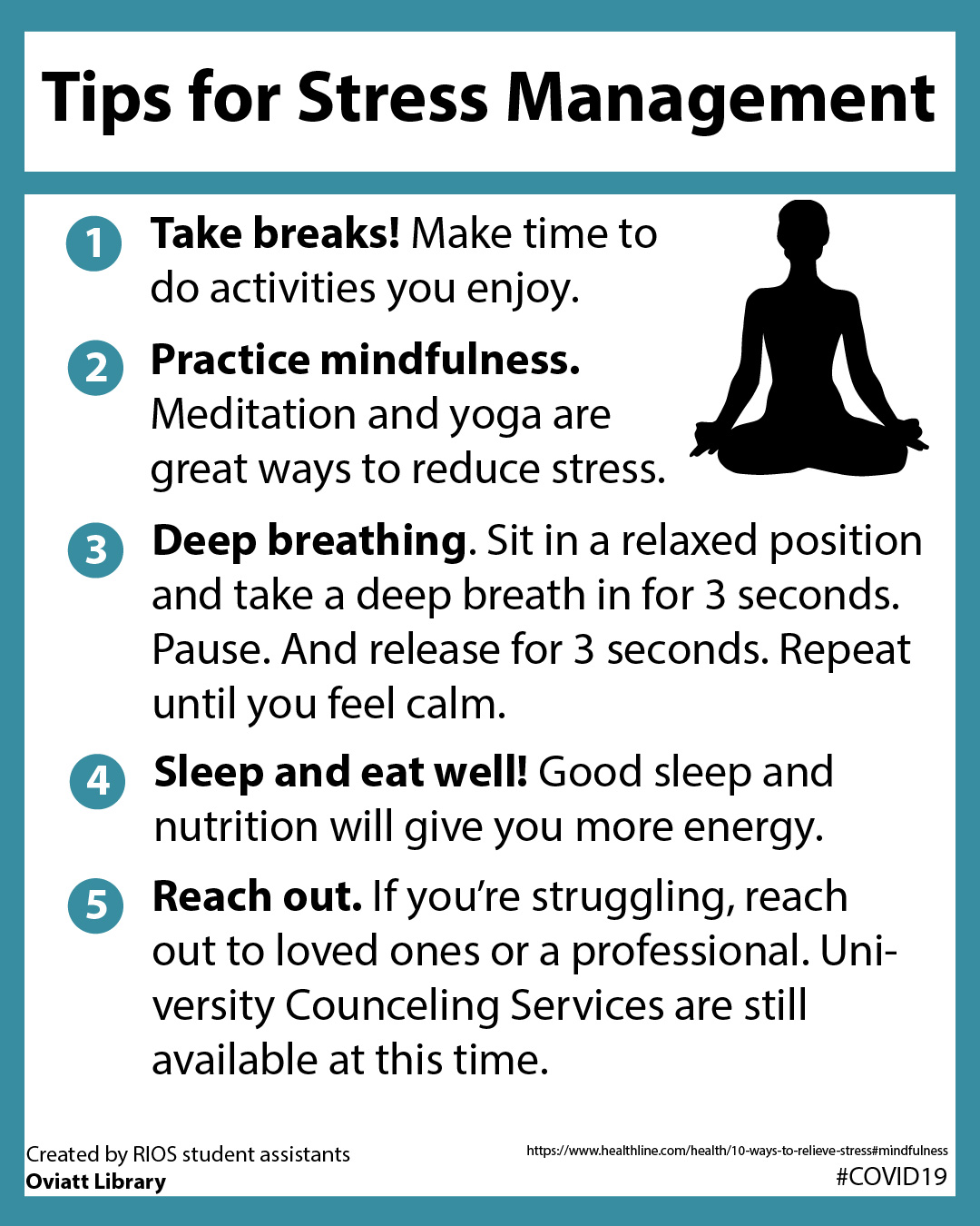 Tips for Stress Management