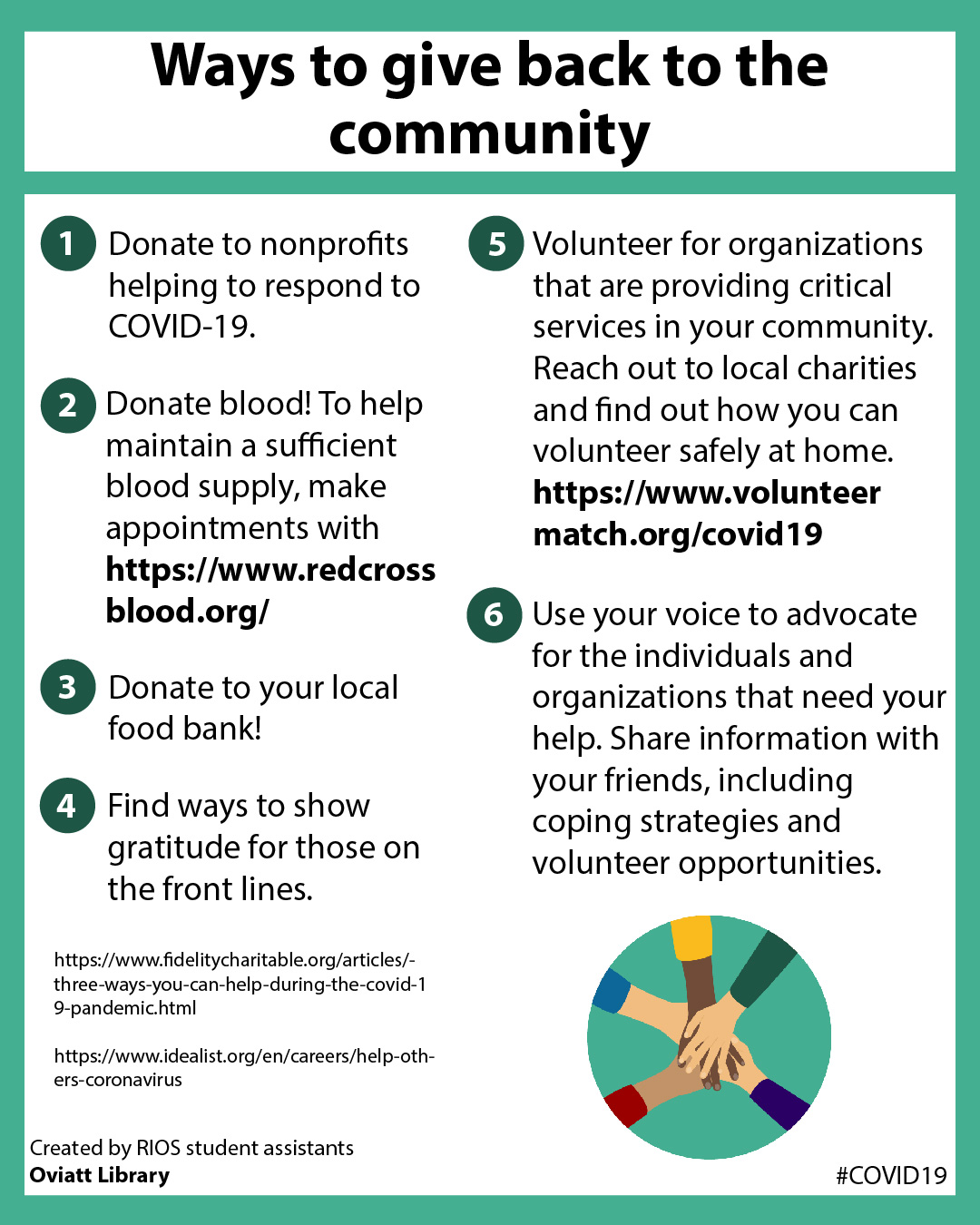 Ways to Give Back to the Community