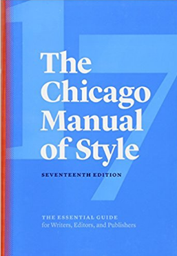 Chicago Manual of Style cover