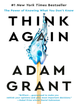 Book Cover for Think Again: The Power of Knowing What You Don't Know
