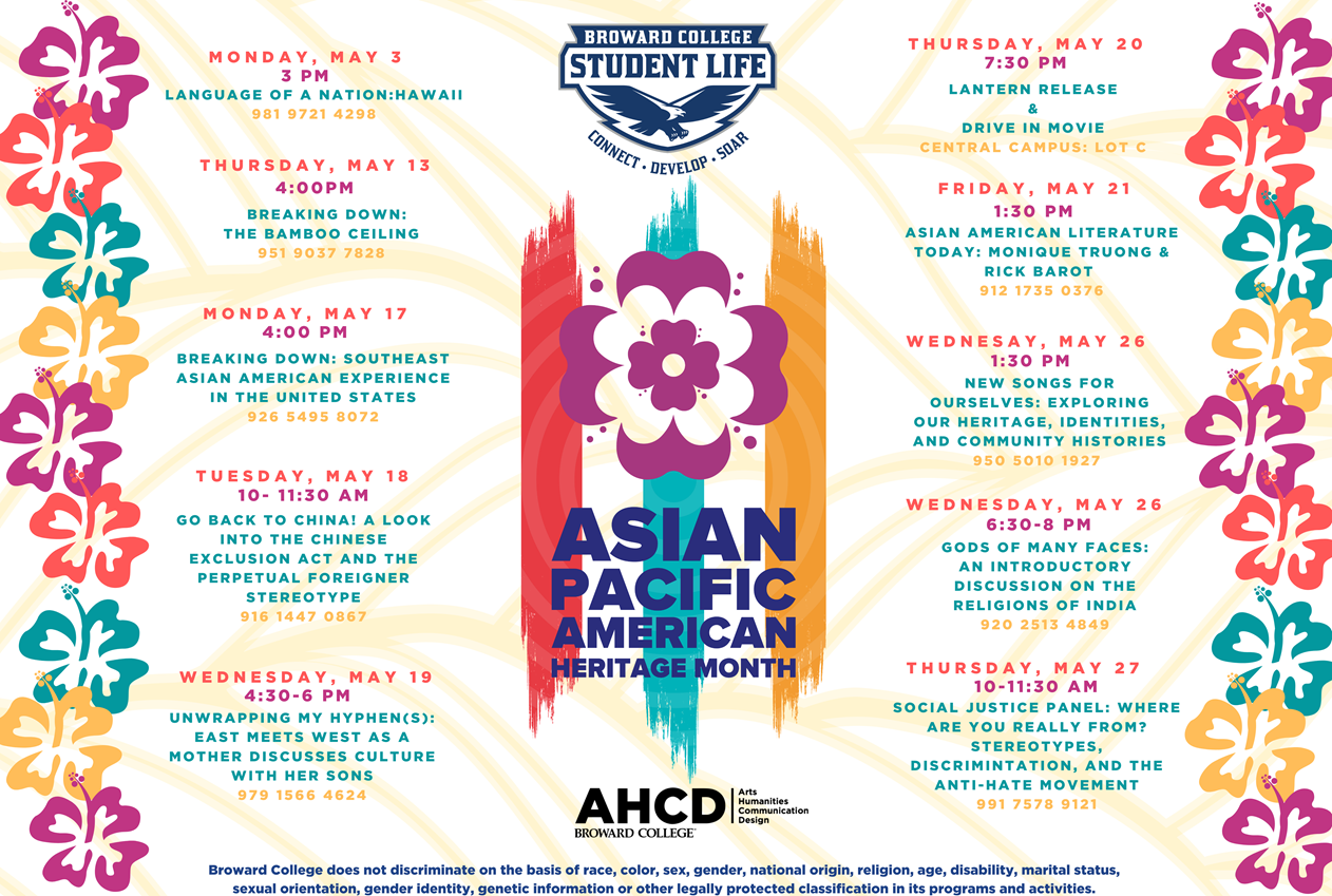 BC Student Life Scheduled Events