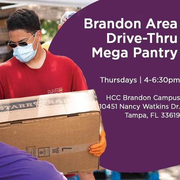 Brandon Area Drive-Thru Mega Pantry  Thursdays 4 - 6:30 PM