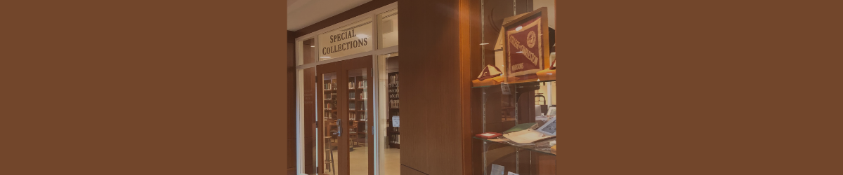 Special Collections Entrance