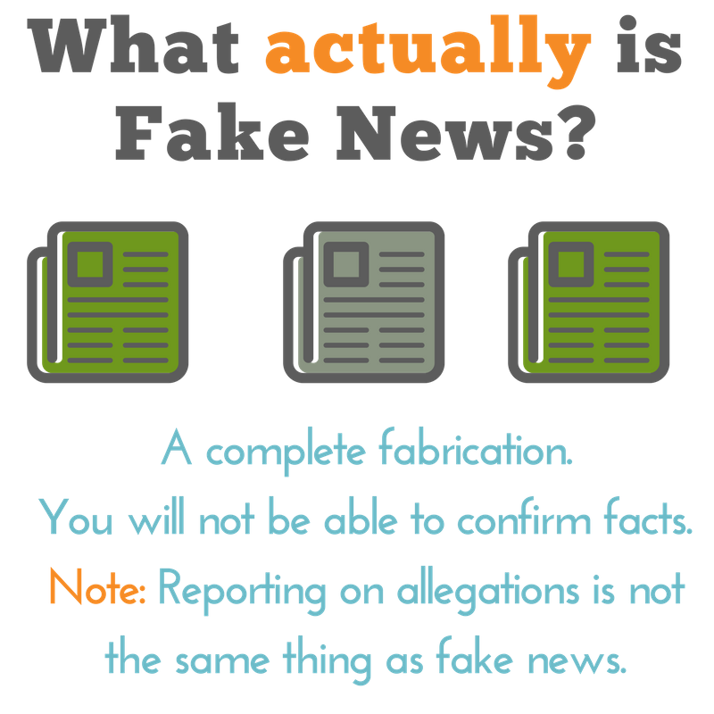 What actually is Fake News
