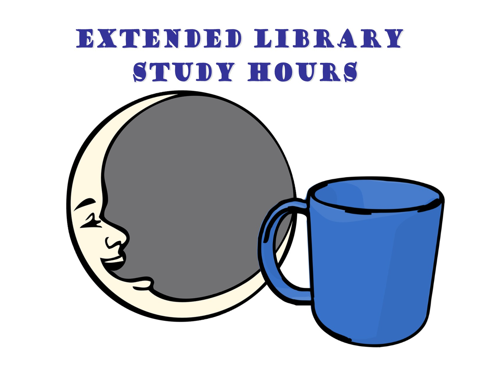 Extended Study Hours, Stress Relief Stations, and Free Coffee, Tea, and Hot Chocolate