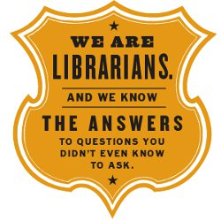 We are Librarians